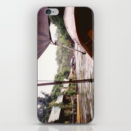 River Kwai Village - Thailand iPhone Skin