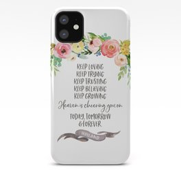 Elder Jeffrey R. Holland - Heaven is Cheering You On iPhone Case