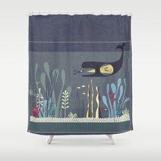 The Fishtank Shower Curtain