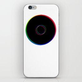 RGB Ringing iPhone Skin