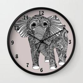 elephant clock Wall Clock