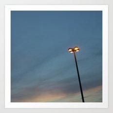 Streetlight No.3 Art Print