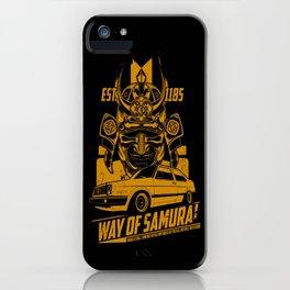 WAY OF SAMURAI iPhone Case
