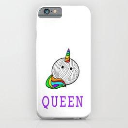 Crochet Queen - Funny Yarn Crocheting iPhone Case