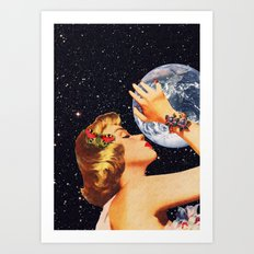 The Embrace Art Print