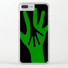Hand in Hand Clear iPhone Case