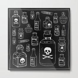 Poison Metal Print