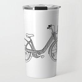 Montreal - Bixi - Black Travel Mug