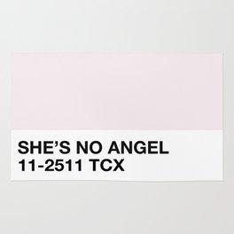 she's no angel Rug