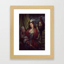Judith Framed Art Print