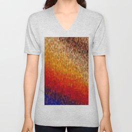 the square field of me Unisex V-Neck