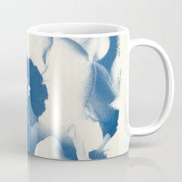 Petals by the Sea [Cyanotype Blue] Coffee Mug