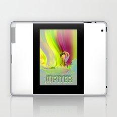 Jupiter - NASA Travel Poster (Alt) Laptop & iPad Skin