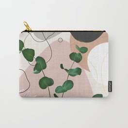 Eucalyptus Fan Palm Finesse #1 #tropical #decor #art #society6 Carry-All Pouch