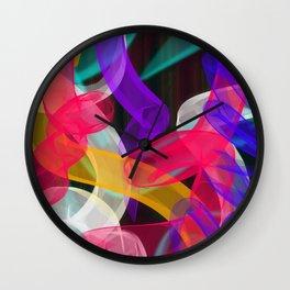 Bam Squiggle Wall Clock