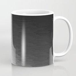 Dark Gray Texture Ombre Coffee Mug