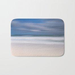 blue seas cloudy sky Bath Mat