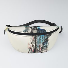 Vintage Liberty New York City Travel Love Watercolor Fanny Pack