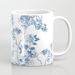 Chinoiserie in White Coffee Mug