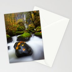 Elowah Falls Autumn Stationery Cards