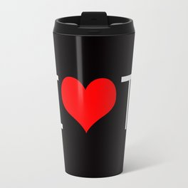 I Love Toronto Travel Mug