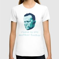 die hard T-shirts featuring Die Hard Yippee Ki Yay by Ariel Wilson
