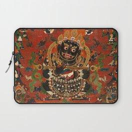 Vajrabhairava Buddhist God of Death 5 Laptop Sleeve
