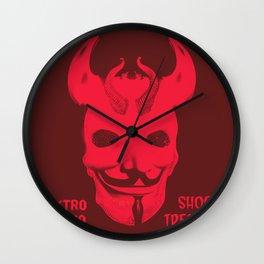 Elektro Inferno Shock Treatment #2 Wall Clock