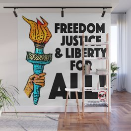 america Wall Mural