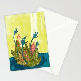 l'isola di calipso Stationery Cards