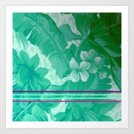 FLOral art A Art Print