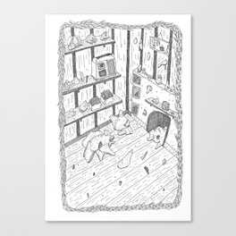 Things room Canvas Print