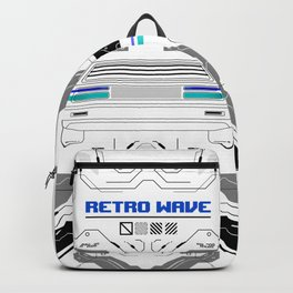 Hacked Digital Skull Backpack