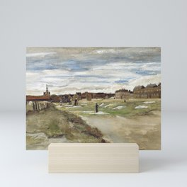 Vincent Van Gogh Bleaching Ground At Scheveningen Mini Art Print
