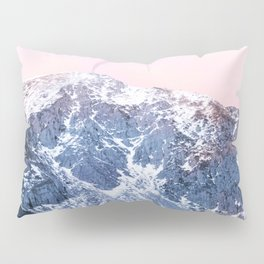 Rose Quarz and Serenity Mountains Pillow Sham