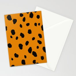 Animal Print Illustration Stationery Cards