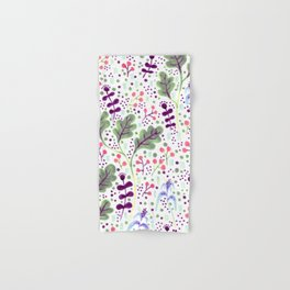 Marker Florals Hand & Bath Towel
