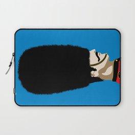 Grand mustache Beefeater Laptop Sleeve