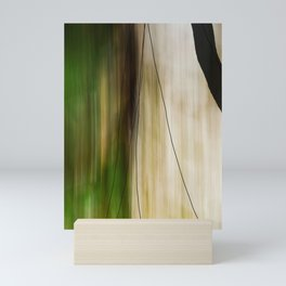 Forest, Water, Lines Mini Art Print