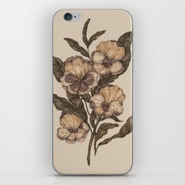 Pansy iPhone Skin