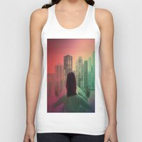 abyss Tank Tops featuring CHICAGO ABYSS by Kelsey Barrentine