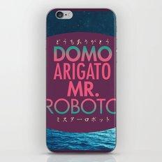Domo Arigato Mr. Roboto iPhone & iPod Skin
