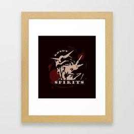 The Robot Spirits Framed Art Print