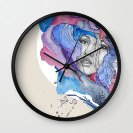 """""""Lotte"""" by carographic Wall Clock"""