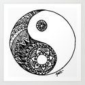 Tangled Yin Yang by julieerindesigns