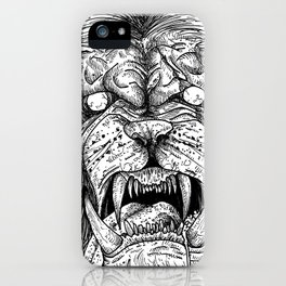 HELL'S ZODIAC - LEO iPhone Case