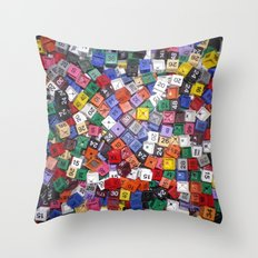 It is not the size of a person but the size of the heart that matters :) Throw Pillow