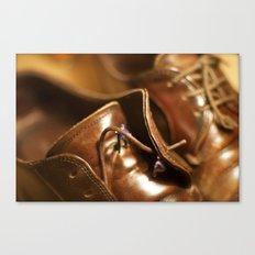 New Shoelaces Canvas Print