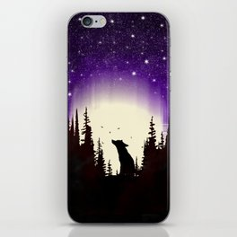 Forest Fox iPhone Skin