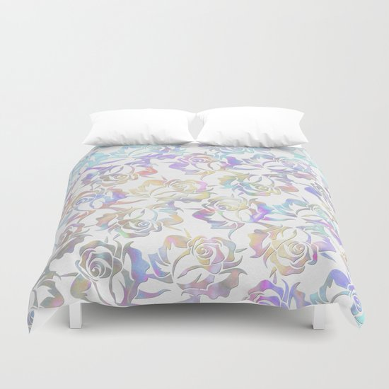 Rose pattern 2 Duvet Cover